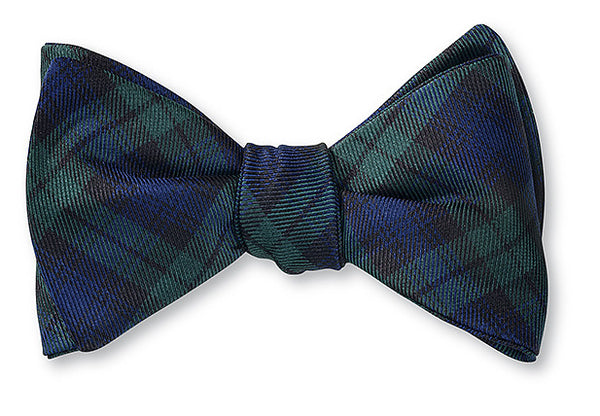 plaid bow ties