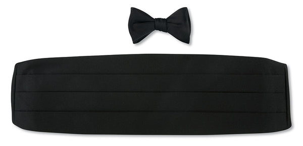 formal bow tie and cummerbund sets
