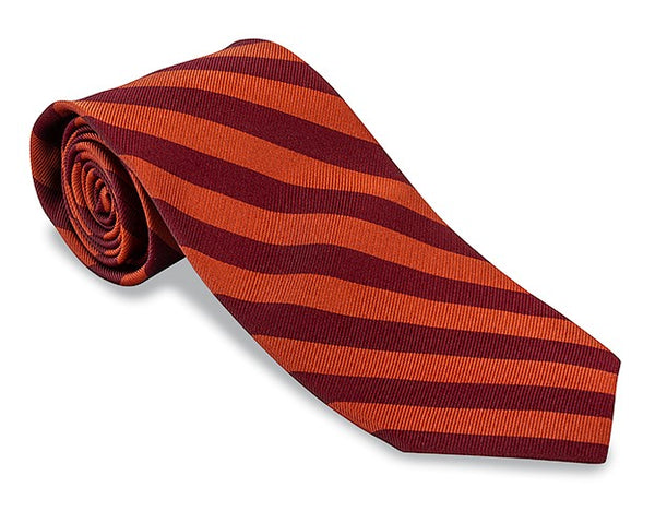 virginia tech hokies necktie