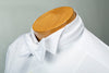 Formal White Cotton Pique Single-End Bow Tie - B594