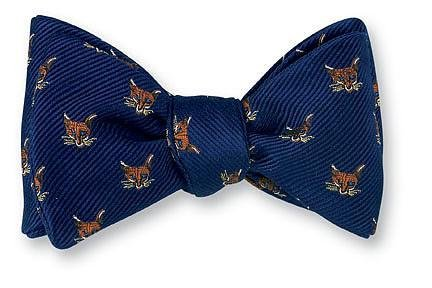 Navy Fox Mask Bow Tie - B2003 R. Hanauer Bow Ties