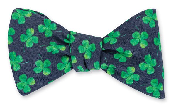 st. pattys day bow tie