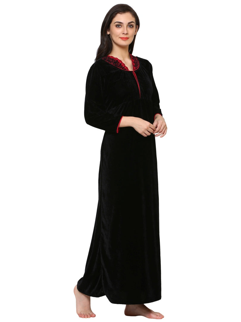 Klamotten Women's Velvet Nightdress 240K