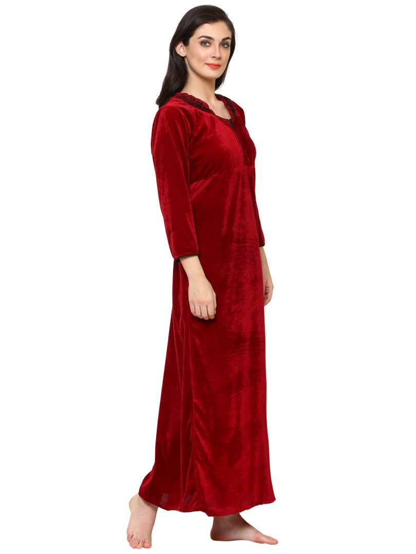 Klamotten Women's Velvet Nightdress 240M