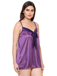 Klamotten Women's  Satin Babydoll Dress X57