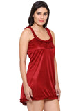Klamotten Women's  Satin Babydoll Dress X77