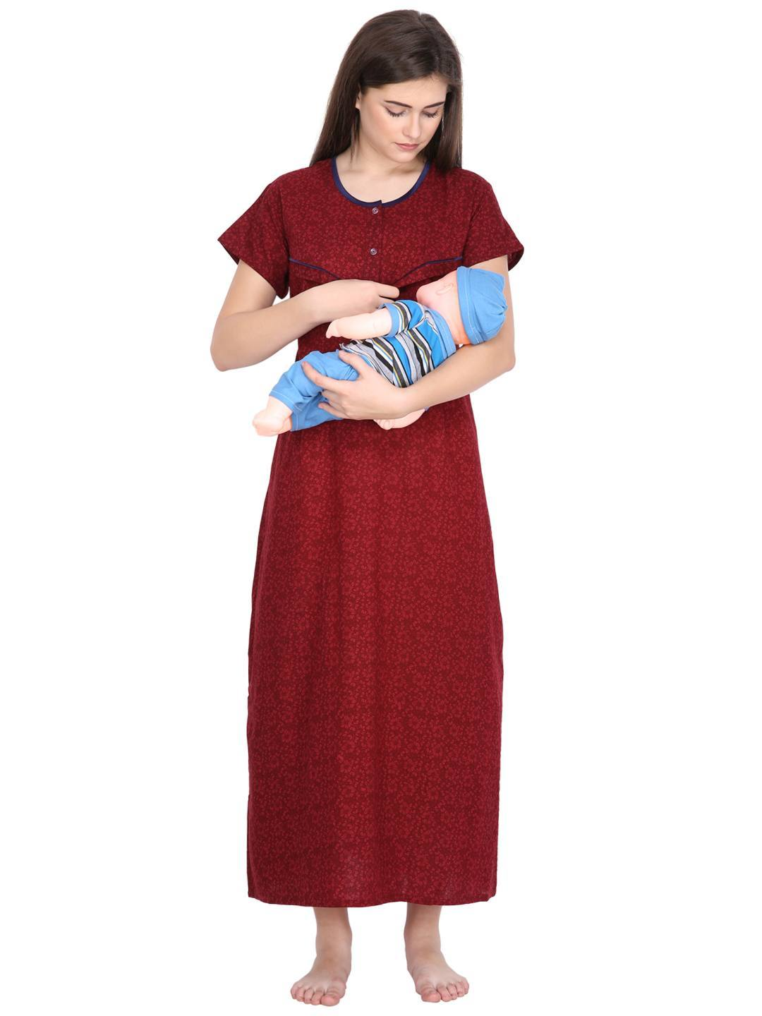 Klamotten Women's Nursing Nightdress C4M30