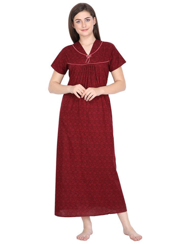 Klamotten Women's Cotton Nightdress C5M18