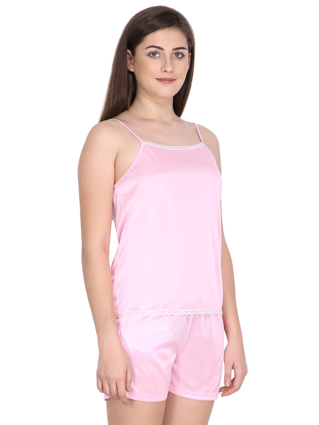 Klamotten Women's Satin Nightsuit DB50Rb