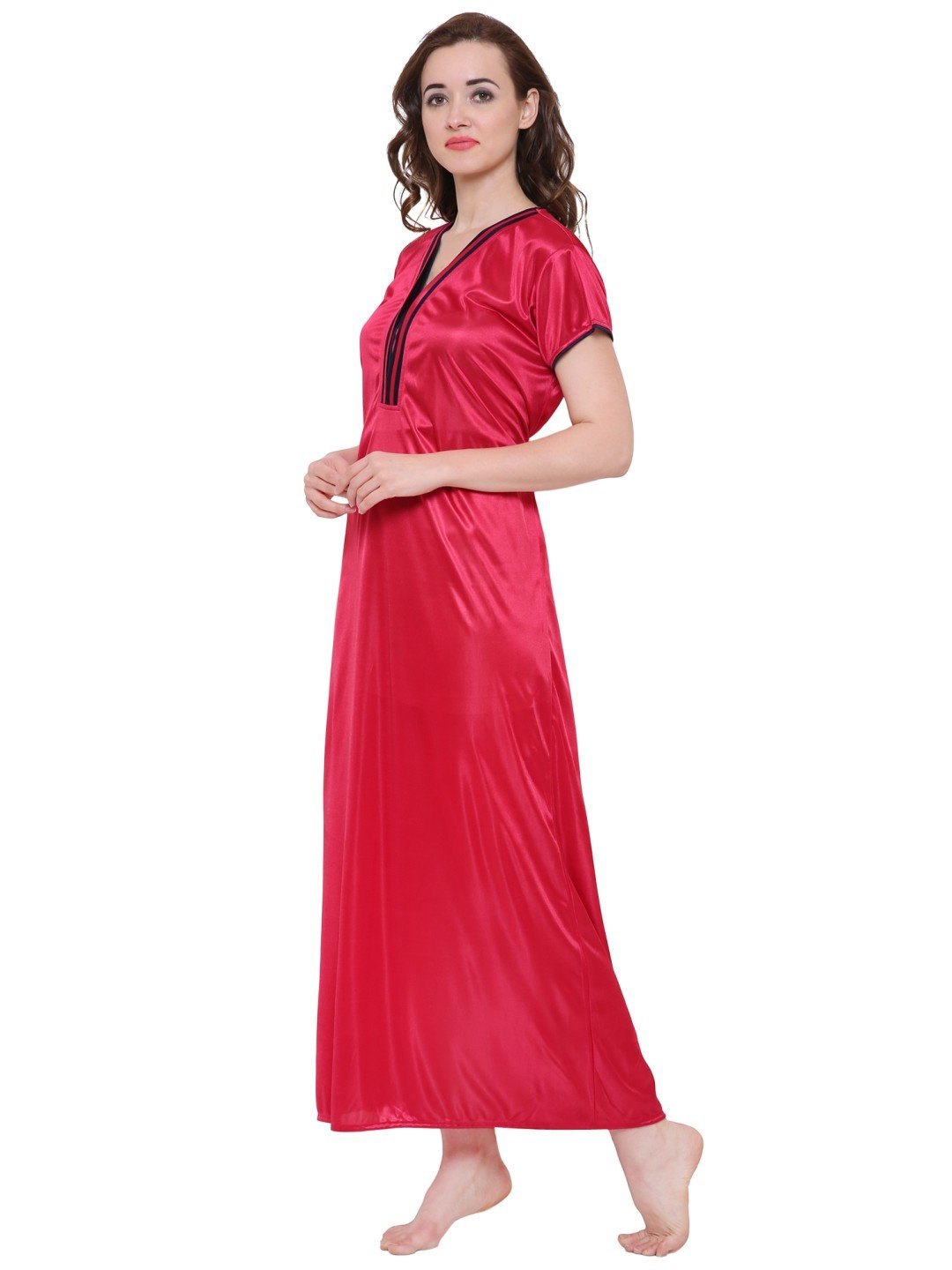 Klamotten Women's Satin Nightdress DS41C