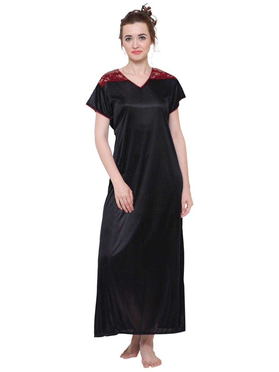 Klamotten Women's Satin Nightdress DS45K