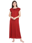 Klamotten Women's Viscose Nightdress L1M