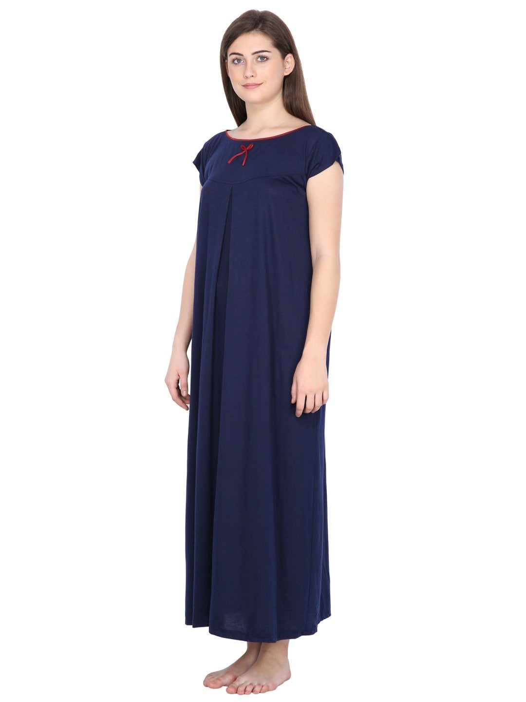 Klamotten Women's Viscose Nightdress L1N