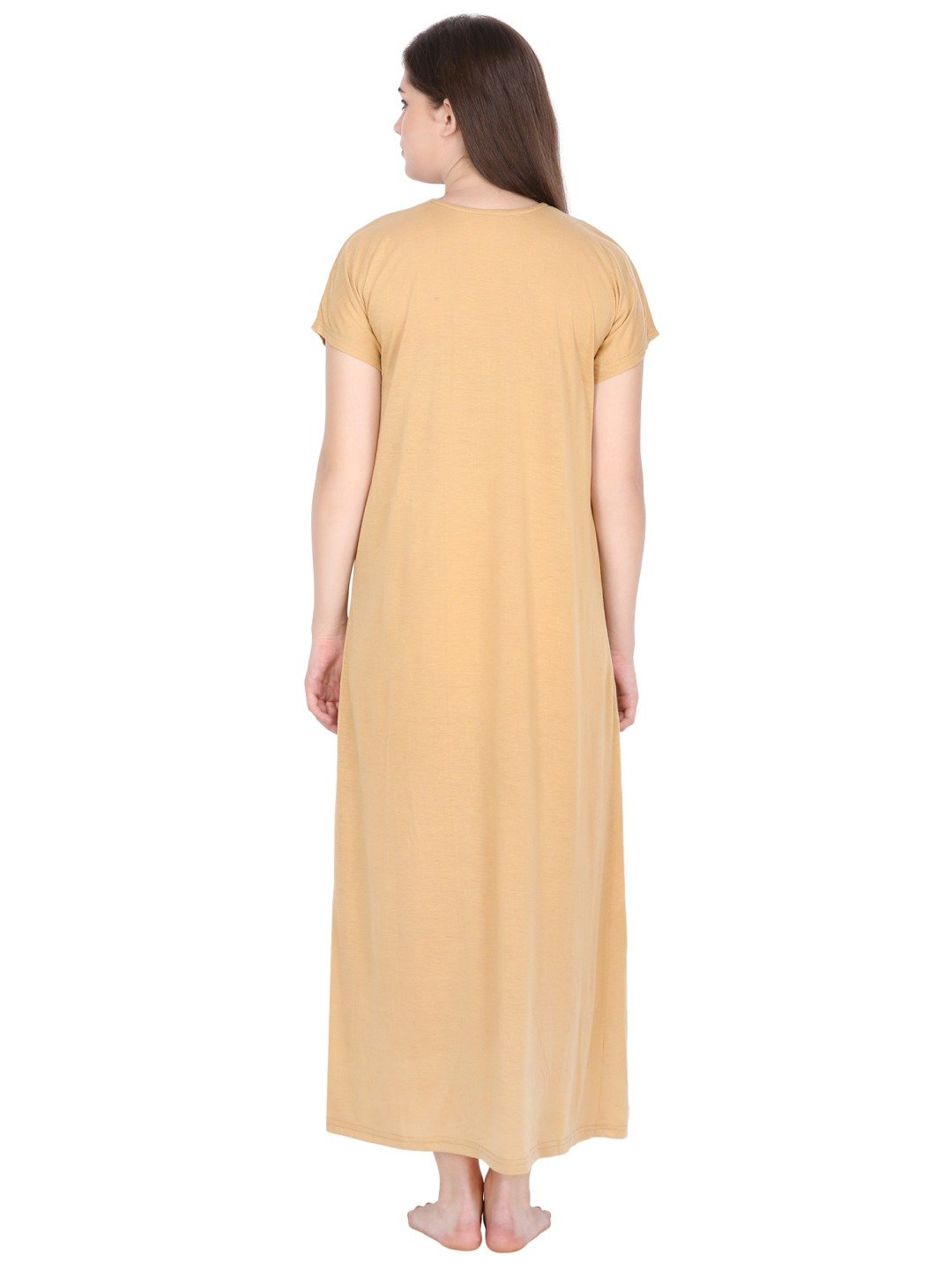 Klamotten Women's Viscose Nightdress L2Ym