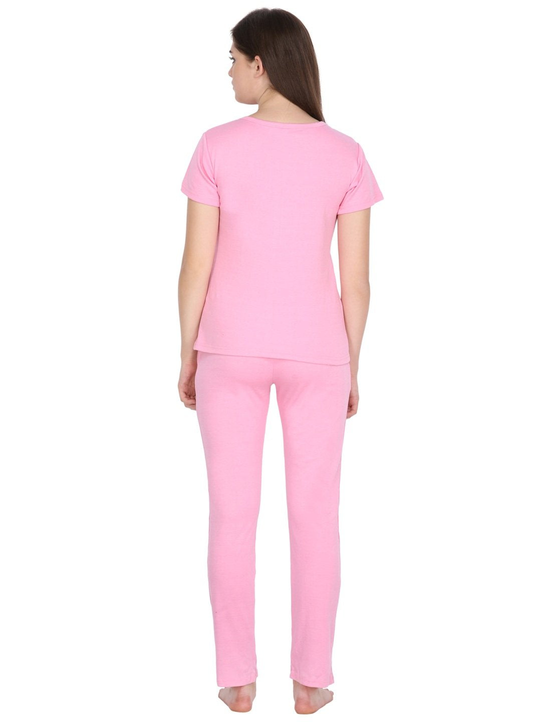 Klamotten Women's Solid Nightsuit N70Rb