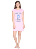 Klamotten Women's Printed Cotton Sleepshirt S10Rb