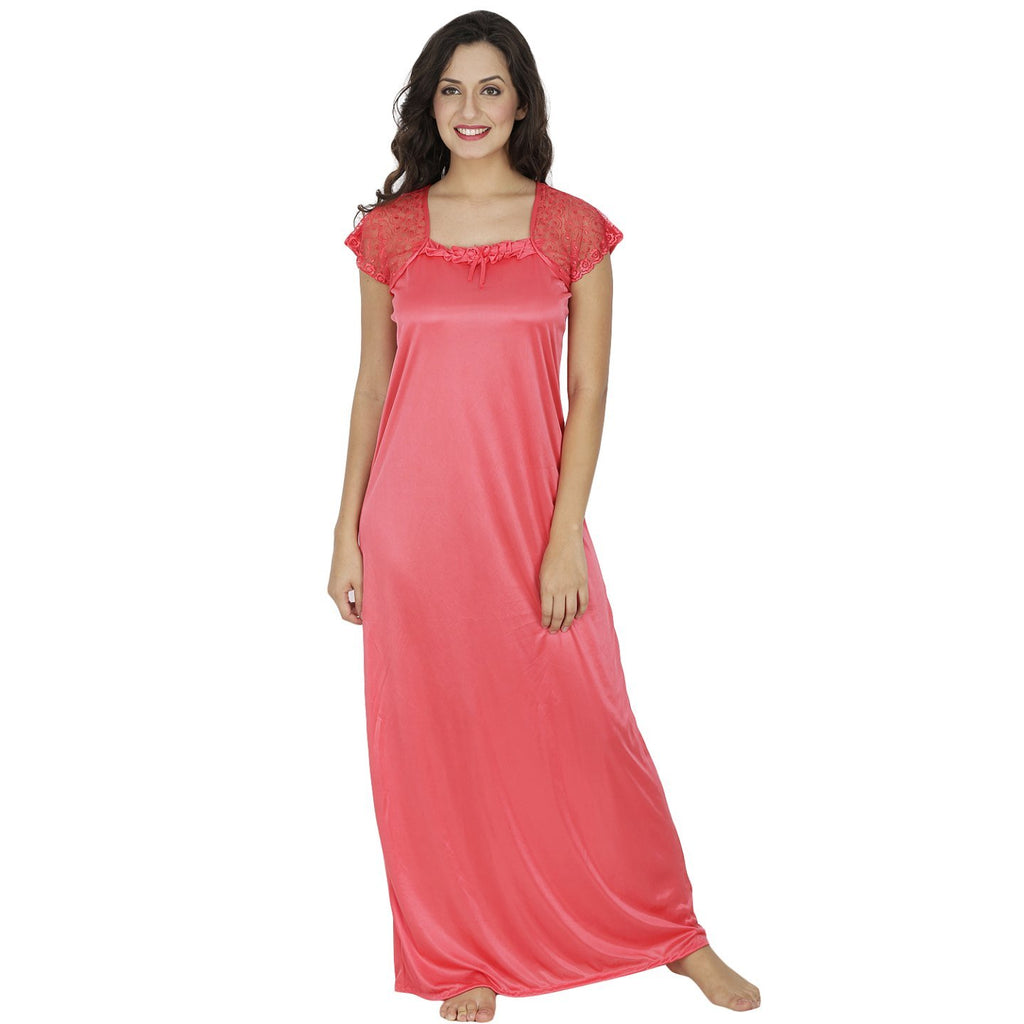 Klamotten_long nightdress_X10_Peach