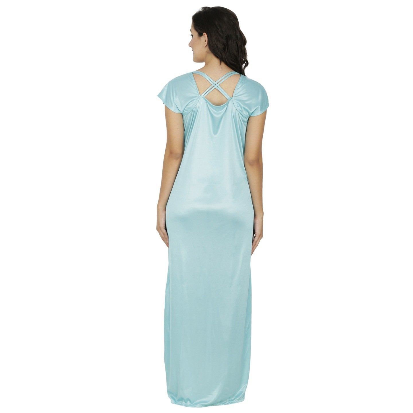 Klamotten_long nightdress_X10_Sea