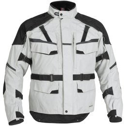 FIRSTGEAR, JAUNT T2 JACKET SILVER/BLK 2XL