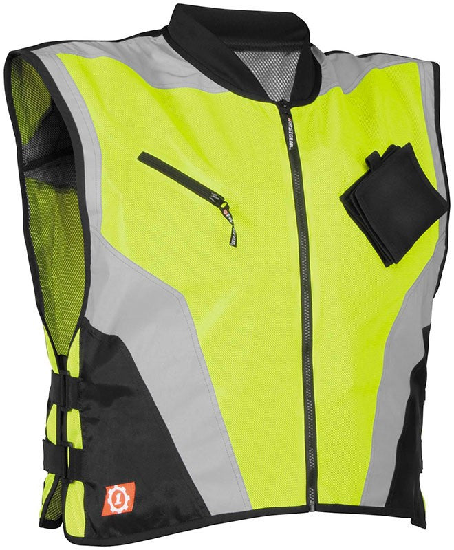 FIRSTGEAR,MIL-SPEC VEST YELLOW MD/LG
