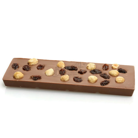 100g Milk Chocolate Bar with Fruit and Nut