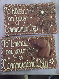400g Hand Decorated Gift Slab