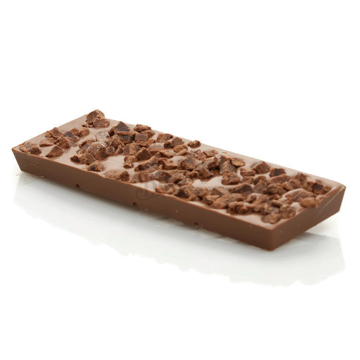 100g Milk Chocolate Bar with Brownie Pieces