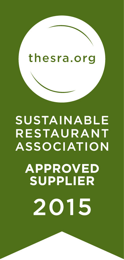 Member of the Sustainable Restaurant Association (SRA)