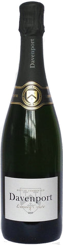 organic English sparkling wine Limney Estate Brut, Davenport, East Sussex 2009 (England)