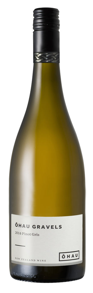 sustainable white wine Pinot Gris, Ohau Gravels 2014 (NZ)