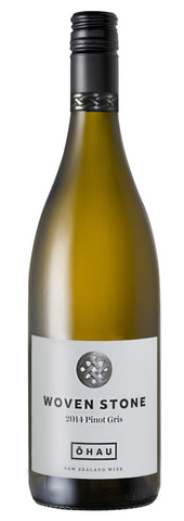 sustainable white wine Pinot Gris 'Woven Stone', Ohau 2014 (NZ)