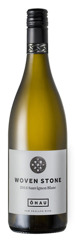 sustainable white wine NZ Sauvignon Blanc 'Woven Stone', Ohau 2014
