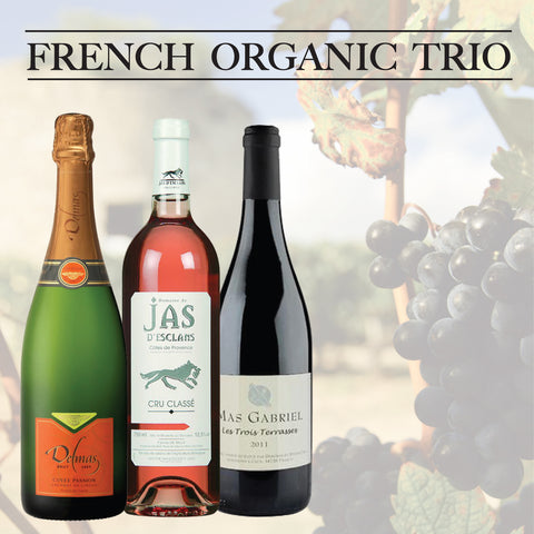 French Organic Trio - save £5!