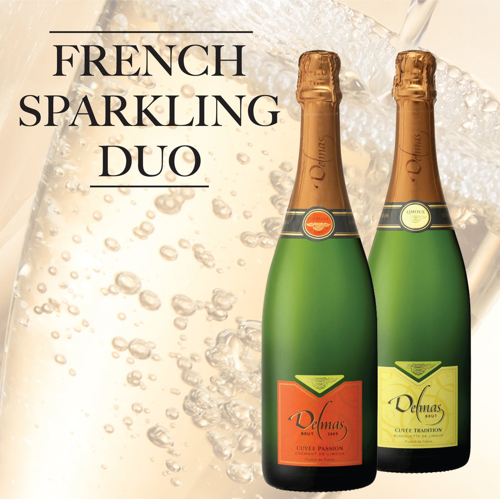 Organic French Sparkling Duo - save £5!