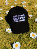 hat - GIRL POWER Baseball Cap - Black - REDWOLF