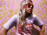 - Girl Power Tee - Pink - REDWOLF
