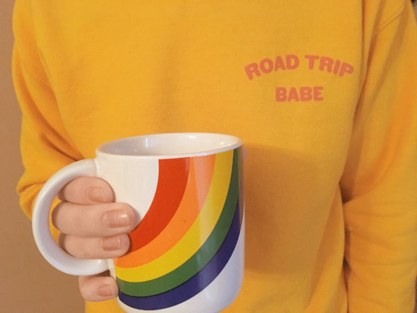 ROAD TRIP BABE SWEATSHIRT
