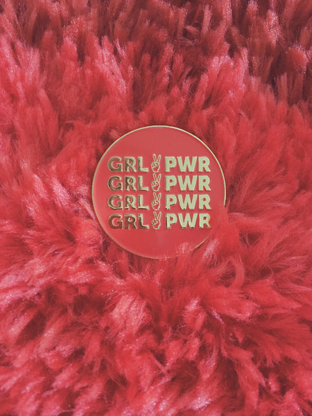 pin - Girl Power Pin - REDWOLF