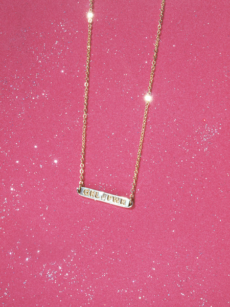 Girl Power Necklace