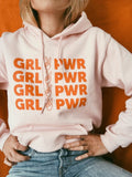 sweatshirt - Girl Power Hoodie - Pink - REDWOLF