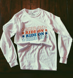 - RIDE ON LONG SLEEVE - REDWOLF