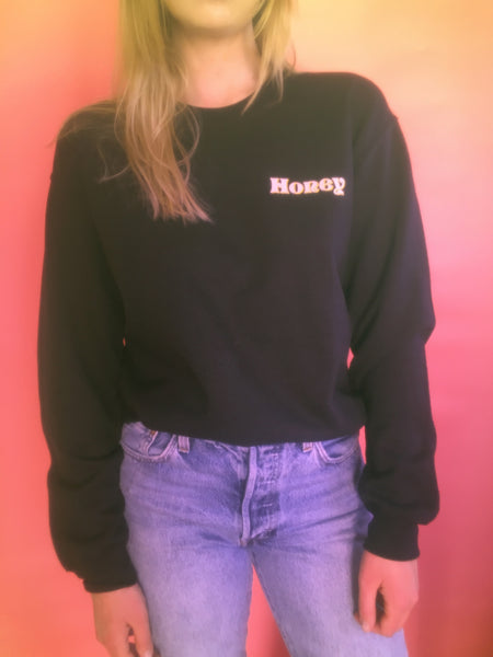 - Honey Crewneck Sweatshirt - REDWOLF