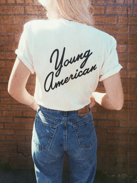 Young American Tee - REDWOLF - 1