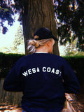 sweatshirt - WEST COAST SWEATSHIRT - REDWOLF