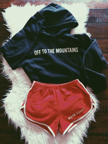 sweatshirt - Off to the Mountains Sweatshirt - REDWOLF