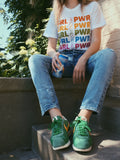 - Girl Power Rainbow Tee - REDWOLF