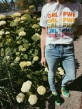 Girl Power Rainbow Tee