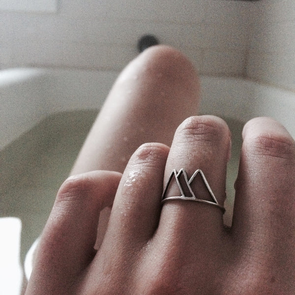 Jewelry - Mountains Ring - REDWOLF