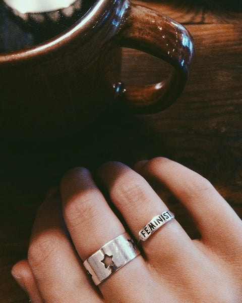 Jewelry - Feminist Ring - REDWOLF