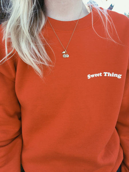 sweatshirt - Sweet Thing Sweatshirt - REDWOLF